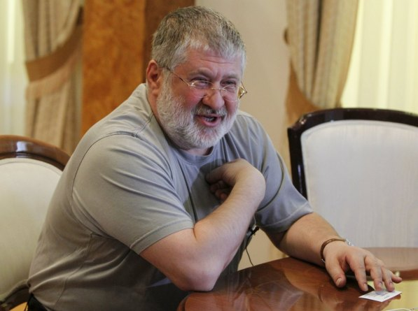 File picture of Igor Kolomoisky, billionaire and governor of the Dnipropetrovsk region, speaks during an interview in Dnipropetrovsk