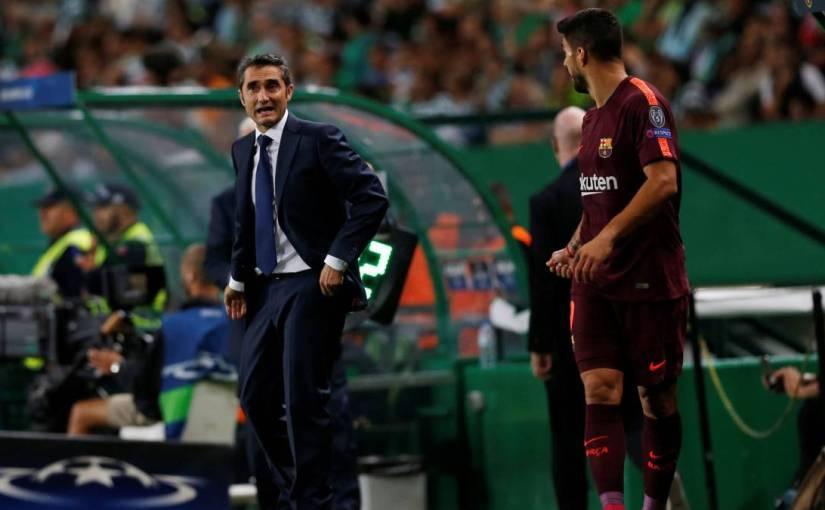 Suárez para Valverde